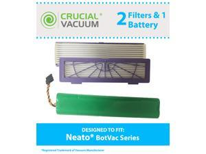 Neato BotVac 70e, 75, 80 & 85 Series Battery & 2 Filters, Part # 945-0129 & 945-0123