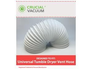 1 Universal Tumble Dryer Vent Hose, Length: 4m & Diameter: 102mm
