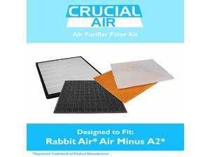 Rabbit Air Air Minus A2 Filter Kit Fits SPA-780A & SPA-780A