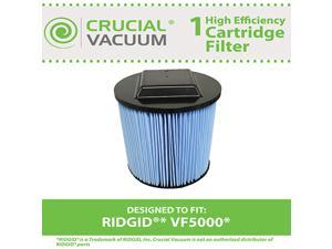 Ridgid VF5000 3-Layer Replacement Filter Fits 6-20 Gallon Wet/Dry Units