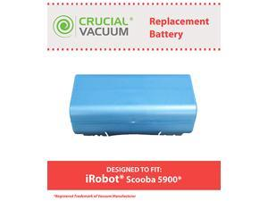 iRobot Scooba 5900 Battery Replacement, Voltage: 14.4V Capacity: 3500mAh