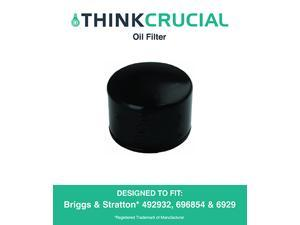 Briggs & Stratton 492932 Oil Filter, Fits Oregon 83-013, John Deere LG492932S & Kohler 25-050-01 28-050-01, Designed & Engineered by Think Crucial