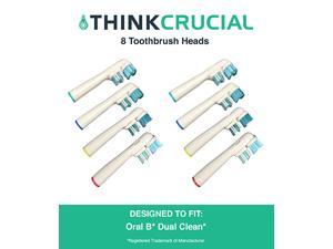 12 Oral-B Dual Clean Electric Toothbrush Head Replacements, Part # SB-417A
