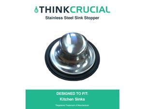 Replacement Stainless Steel Sink Stopper fits InSinkErator, Part # STP-SS