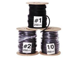 #2 Welding Battery Cable 250 Feet Made in USA Black