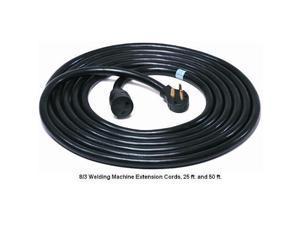 Mig Tig 8325M Heavy Duty Welder Cord 25 Foot 8/3