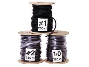 #4 Welding Battery Cable 250 Feet Made in USA Black