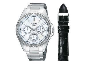 037738140630Pulsar 3-Hand Multifunction with Swarovski Crystals Women's watch PP6049