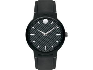 Movado Gravity Rubber Mens Watch 0606849