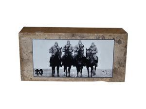 "Notre Dame Brick with ""4 Horsemen"" Nameplate"