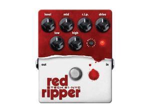 Tech 21 Red Ripper Bass Fuzz Effect Pedal