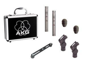 AKG C451B/ST Stereo Matched Pair Small Diaphragm Condenser Mic
