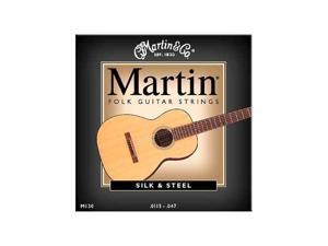 Martin M130 Silk & Steel Folk Acoustic Guitar Strings