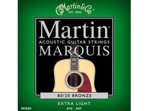 Martin M1000 Marquis Extra Light 10-47 Acoustic Guitar Strings