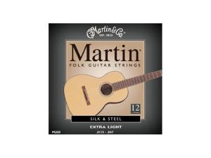 Martin M200 Silk & Steel Folk 12-String Acoustic Guitar Strings