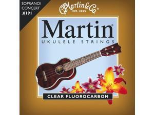 Martin Soprano Ukulele Strings- Clear Fluorocarbon