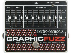 Electro Harmonix Graphic Fuzz Distortion With Eq