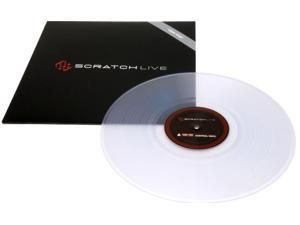 Rane SSL Serato Scratch Live Control Vinyl Clear