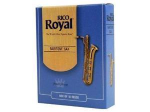 Rico Royal Baritone Saxophone 10 Pack 3 Strength