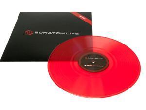 Rane SSL Serato Scratch Live Control Vinyl Red