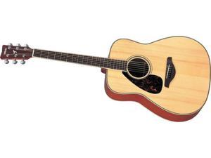 Yamaha FG720SL Left Handed Dreadnought Acoustic Guitar in Natural