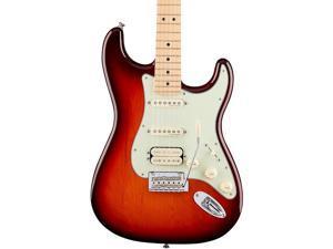 Fender Deluxe Tobacco Sunburst Stratocaster HSS w/ Gig Bag