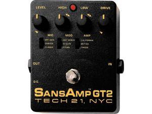 Tech 21 GT2 Sans Amp Tube Amp Emulator
