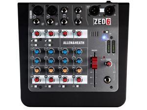 Allen & Heath Zed-6 6 Channel Analog Mixer