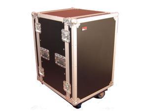 Gator Cases G-Tour 16U Cast Tour Style ATA Flight Rack Case with Casters