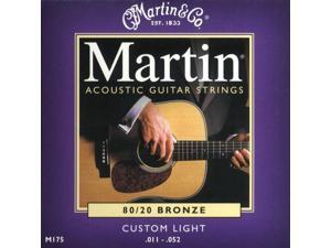 Martin M175 Custom Light 11-52 Acoustic Guitar Strings