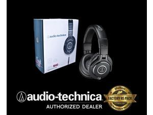 Audio Technica ATH-M40X ATHM40X Closed Back Dynamic Monitor Headphones