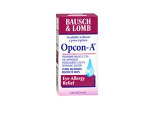 Bausch And Lomb Opcon-A Eye Drops For Itching And Redness, 0.5 oz by Bausch And Lomb