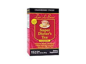 Laci Super Dieters Tea, Cranberry Twist 15 Bags by Natrol