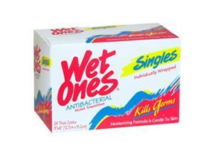 Wet Ones Wipes Anti Bacterial Towelettes, 24 Each by Schick
