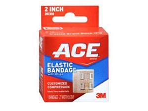 Ace Elastic Bandage With Clips, 2 inches 1 each by Ace