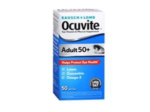 Bausch & Lomb Ocuvite Adult 50+ Soft Gels, 50 ct by Bausch And Lomb