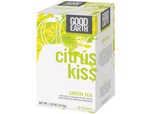 Citrus Kiss Green Tea, 18 Bags by Good Earth Teas