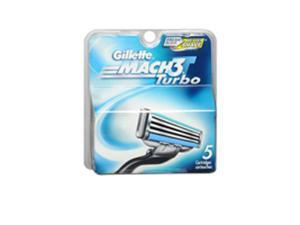 Gillette MACH3 Turbo Cartridges - 5 ct