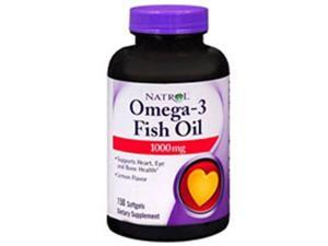 Omega-3 Fish Oil, 1000 mg, 90 Softgels by Natrol