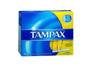 Tampax Flushable Tampons Regular - 40 ea.