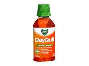 Vicks DayQuil Cough & Congestion, Cooling Citrus - 12 oz