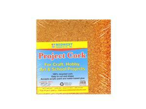 Midwest Project Cork sheet 8 1/2 in. x 11 in. x 1/32 in. pack of 4