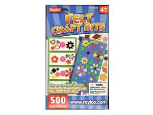 Roylco Inc. Mosaic Pieces assorted felt shapes pack of 500