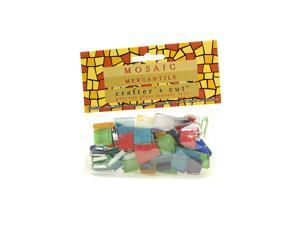 Mosaic Eye Publishing Crafter's Cut Solid Mosaic Tiles assorted 1/3 lb. bag