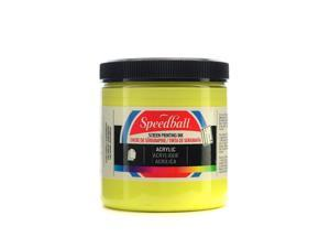 Speedball Art Products Acrylic Screen Printing Ink primrose yellow 8 oz.  [Pack of 2]