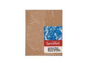 Speedball Art Products Linoleum Blocks 4 in. x 5 in.  [Pack of 6]