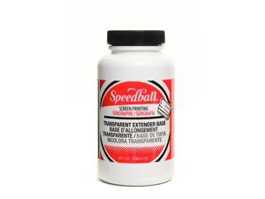 Speedball Art Products Water-Soluble Transparent Extender Base 8 oz.  [Pack of 3]