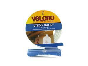 Velcro Closure Easy To Use Dispenser Packs white  [Pack of 2]