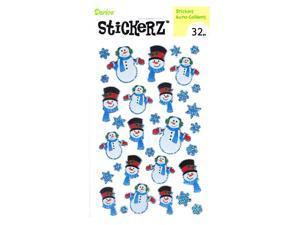 Darice Stickerz snowman  [Pack of 12]