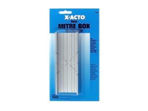 X-Acto Small Mitre Box metal mitre box